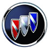 Buick logo, a premium automobile brand owned by General Motors