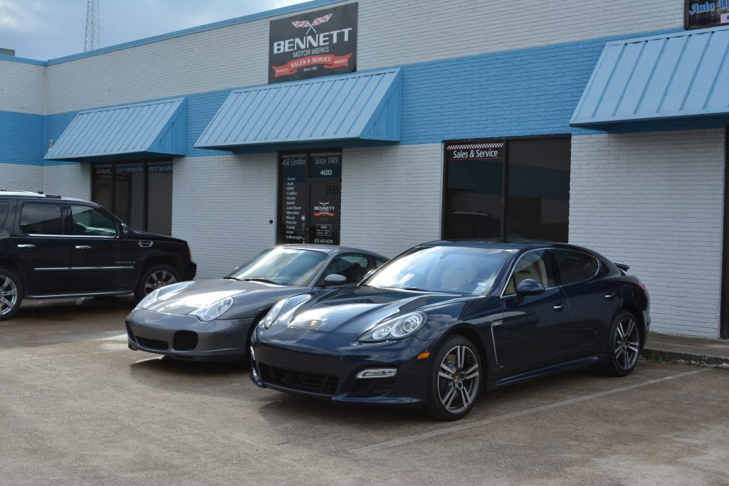 Porsche Repair Shop Dallas TX